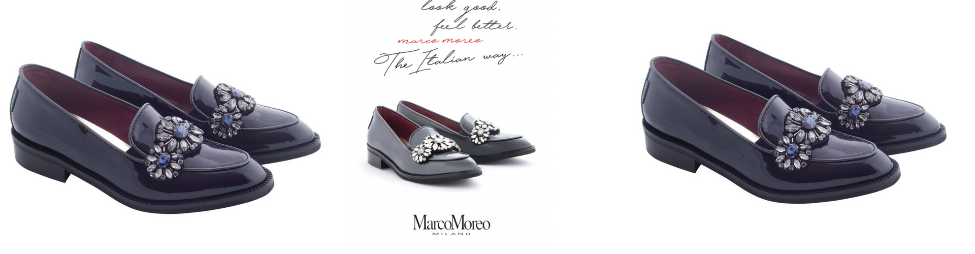 Marco Moreo classic patent  loafer
