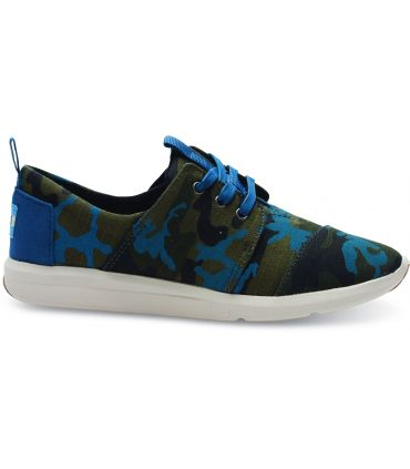 Khaki camoflage trainers by TOMS
